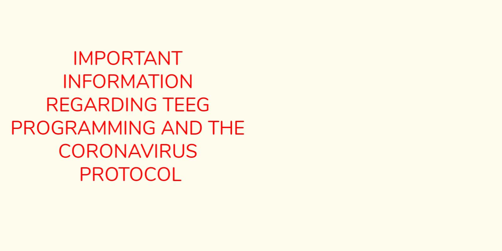 Corona Virus Protocol